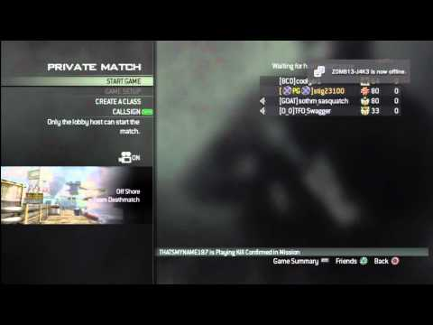 MW3 Offshore Early Map Glitch PS3 !
