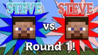 getlinkyoutube.com-Steve vs. Steve - A Minecraft Rivalry - EP01