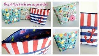 getlinkyoutube.com-Sew easy cosmetics bags
