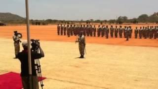 Kenya Wildlife Service Parade end