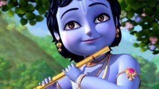 getlinkyoutube.com-Krishna Krishna Radhe Krishna  - Animated Marathi Song