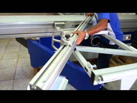 Esquadrejadeira de Precisão Giben GD 405M - Sliding Table Saw Giben