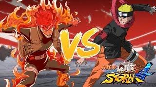 getlinkyoutube.com-Naruto Shippuden Ultimate Ninja Storm 4 - The Last Naruto vs Eight Gates Guy