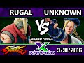 F@X 150 - IGT Unknown Cammy Vs. Rugal Nash SFV Grand Finals - Street Fight V