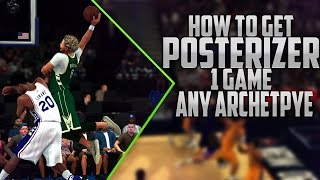 getlinkyoutube.com-NBA 2K17 - How to Get POSTERIZER with ANY Archetype in One Game