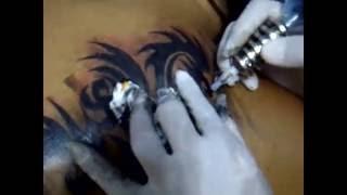 getlinkyoutube.com-สักลายมังกรกราฟฟิก สักลายมังกร Dragon Tattoo ช่างเก๋