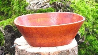getlinkyoutube.com-How to make a Scroll Saw Bowl - woodworking