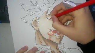 getlinkyoutube.com-Speed Drawing - Ban (Nanatsu no Taizai)