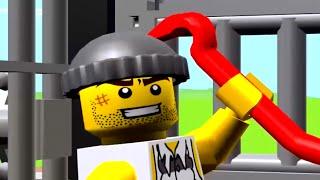 getlinkyoutube.com-เกมส์ ตำรวจจับผู้ร้ายแหกคุก  เลโก้จูเนียร์เควส LEGO