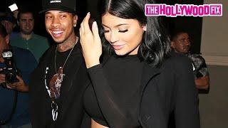 getlinkyoutube.com-Kylie Jenner & Tyga Attend Kim Kardashian's 35th Birthday Party 10.21.15 - TheHollywoodFix.com