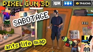 getlinkyoutube.com-Let's Play Pixel Gun 3D: SNEAKY SABOTAGE!! EPIC Ants Life Map w/ Dad & Kids (part 12)
