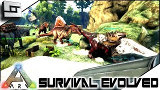 getlinkyoutube.com-ARK: Survival Evolved - WAR DAY! S4E22 ( The Center Map Gameplay )