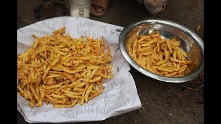 Village Food   French fries recipes   Grandfather recipe-9