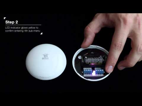 FIBARO Flood Sensor Reset