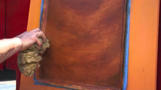 getlinkyoutube.com-Jeff Pollastro Paints Imitation Wood