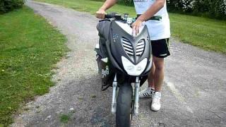 getlinkyoutube.com-Yamaha aerox 70cc malossi sport Test efter finare inställningar på föggen!