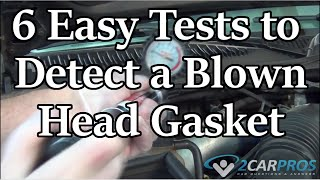 getlinkyoutube.com-HOW TO CHECK FOR A BLOWN HEAD GASKET