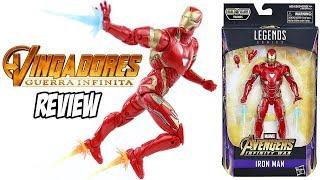 Review Homem de Ferro Mark 50 Marvel Legends filme Vingadores Guerra Infinita - brinquedo boneco