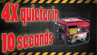 getlinkyoutube.com-4x Quieter generator in 10 seconds