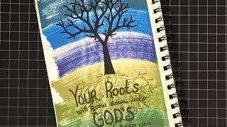 getlinkyoutube.com-2017 heART Scripture Art Week 4 {Ephesians Chapter 3}