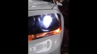 getlinkyoutube.com-2011 dodge avenger projector headlight