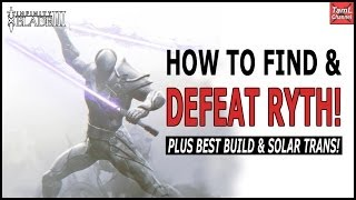 getlinkyoutube.com-Infinity Blade 3: HOW TO FIND & DEFEAT RYTH! Incl. Best Build & Solar Trans!