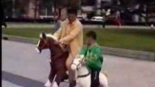 Ride Horse Kids Toy Can Really Walk Without Power