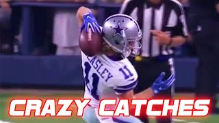 NFL Craziest Catches of All-Time
