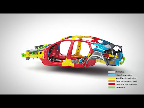 Volvo S90, V90, V90XC safety features and crash tests (video by Volvo)