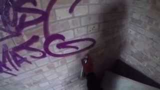 getlinkyoutube.com-Graffiti - Ghost EA - Abandoned Eye Infirmary
