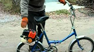 getlinkyoutube.com-Мотовелосипед (Motorized bicycle)