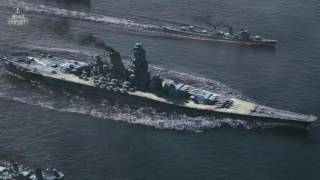 getlinkyoutube.com-World of Warships - Yamato last battle (Duty Calls) [CGI]
