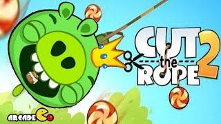 getlinkyoutube.com-Bad Piggies - Cut The Rope 2 Gameplay Walkthrough