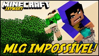 getlinkyoutube.com-Minecraft: MLG IMPOSSÍVEL! (SKYWARS)