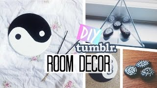 ☾DIY Tumblr & Urban Outfitter Inspired Room Decor | Spirited Gal