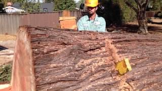 getlinkyoutube.com-AWESOME Big Redwood Removal and Mill Job