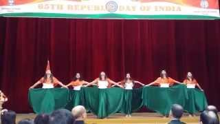 getlinkyoutube.com-Colours of India Group Dance  Revival Vande Mataram & Instrumental fusion