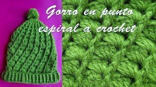 getlinkyoutube.com-gorro tejido a crochet paso a paso - TEJIDOS OLGA HUAMAN