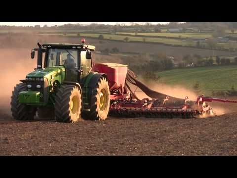 Vaderstad Spirit 900s with John Deere 8R Series Part 2