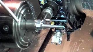 getlinkyoutube.com-CNC Lathe Turning and 3D Surface Milling Doosan