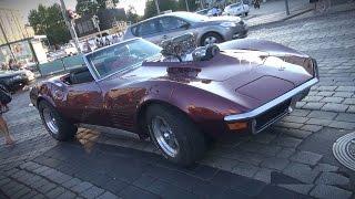 Supercharged 454 Big Block C3 Corvette - Pure V8 Sounds!