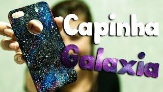 getlinkyoutube.com-DIY: Como personalizar a capinha do celular com esmalte (efeito galaxia)