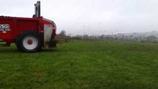Xcel 1250 Rear Discharge Manure Spreader - Hi-Spec Engineering Ltd