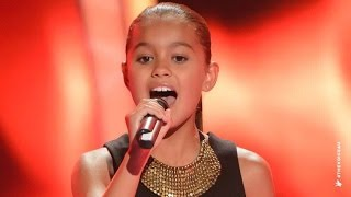 getlinkyoutube.com-Alexa Sings Girl On Fire | The Voice Kids Australia 2014