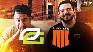 OPTIC REACTS TO THE BLACK OPS 4 REVEAL!!!
