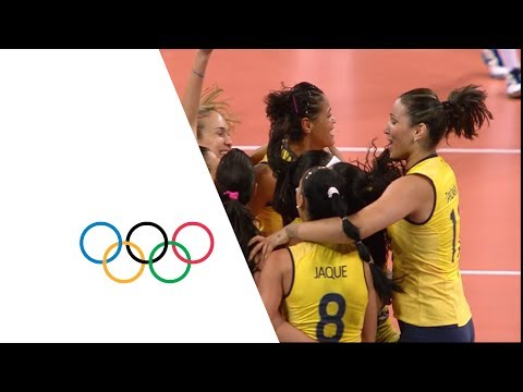 Volleyball Women's Quarterfinals - Brazil v Russian Fed. Full Replay - London 2012 Olympic Games
