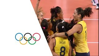 getlinkyoutube.com-Brazil vs Russian Fed. - Women's Volleyball Quarterfinal | London 2012