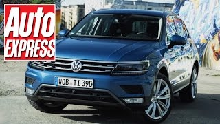 getlinkyoutube.com-New VW Tiguan review: the crossover SUV just got more capable