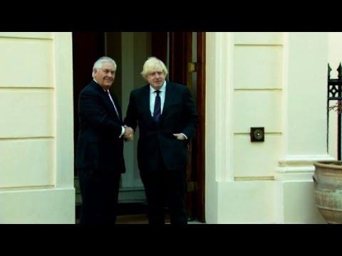 Manchester: Tillerson à Londres pour apaiser les tensions