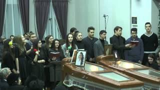 getlinkyoutube.com-Serviciul divin de priveghi cu ocazia plecarii in vesnicie a Laurei si Angelicai Rotcu